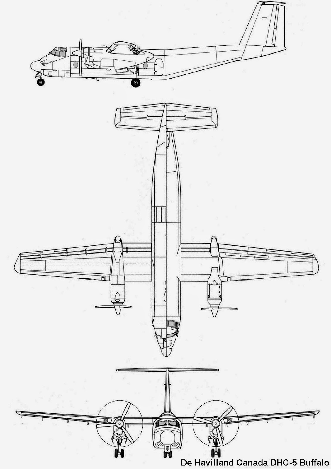 airplane scale modelkit  de havilan canada dhc