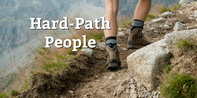 "Don't let ""hard-path"" people discourage you from sharing the Gospel"