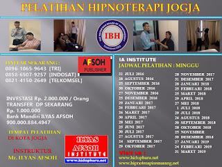 Pelatihan Hipnoterapi di Jogja