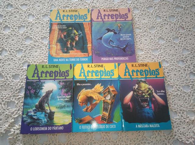 ... da colecção de livros Arrepios
