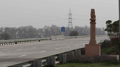 Miniature Monuments Besides Eastern Peripheral Expressway