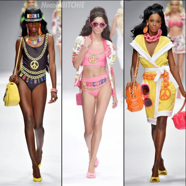 Jeremy Scott: Moschino Barbie-themed S/S 2015 collection