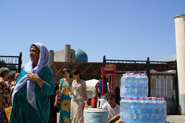Ouzbékistan, Samarcande, marché Siyab, © L. Gigout, 2010