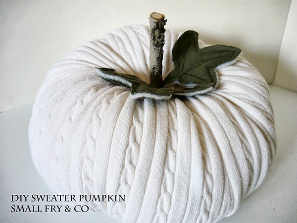 DIY Sweater Pumpkin Tutorials