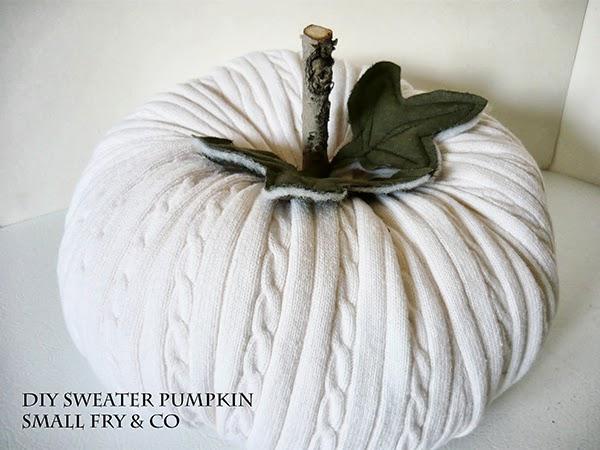 DIY Sweater Pumpkin Tutorials