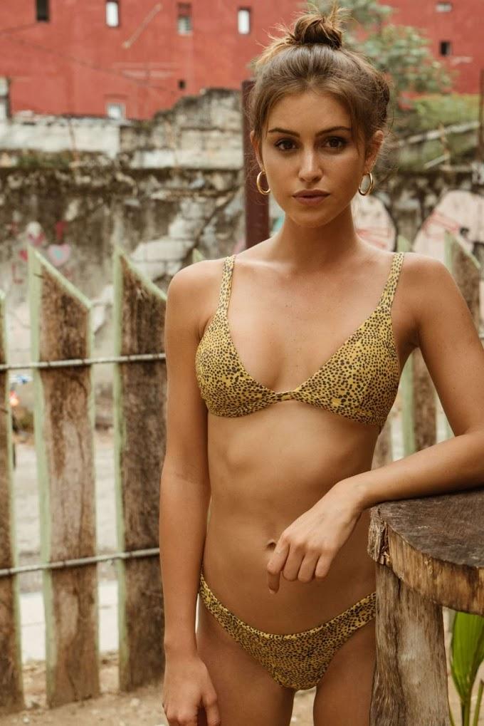Gigi Paris: Citrine Swim Lookbook 2019
