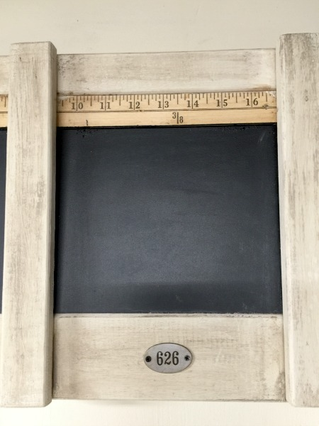 How to Make a Three Sectioned Chalkboard www.homeroad.net