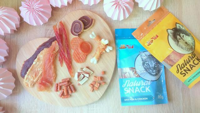 krakvet natural snack mięsne przysmaki dla psów i kotów
