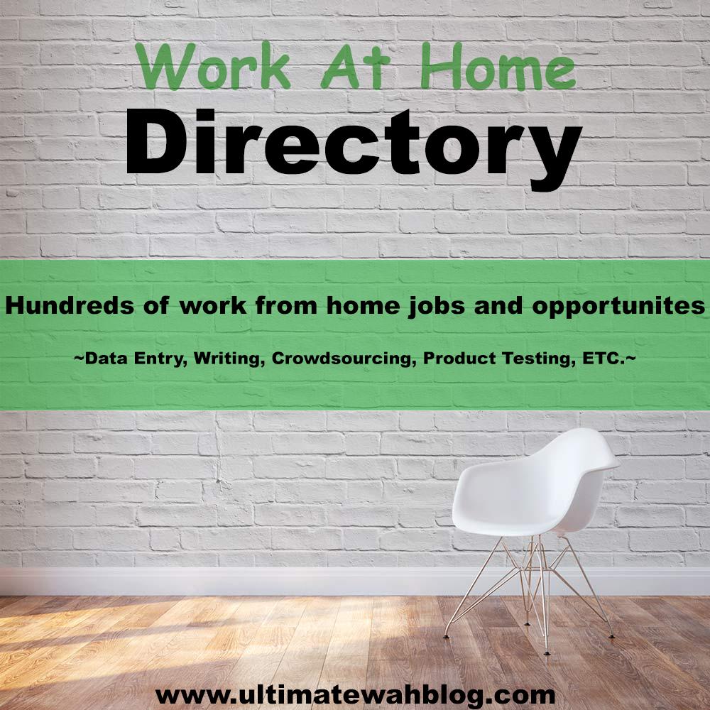 Work At Home Writing Jobs Job Directory Ultimate Wah Blog 11 Great