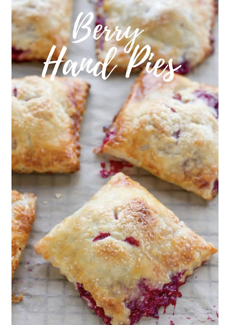 Berry Hand Pies From SavingRoomForDessert.com