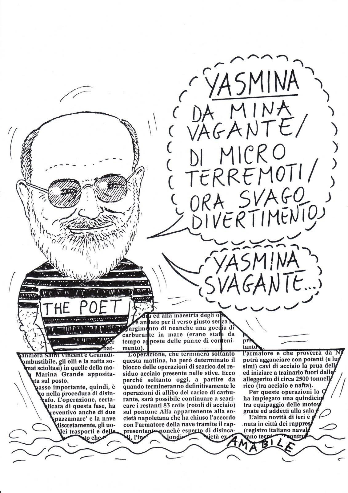 Amabile Satira Salerno Amarcord Sei Anni Fa Yasmina