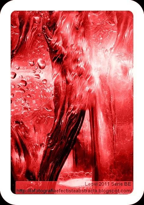 Foto Abstracta 3178  Frialdad ardiente - Ardent Chill