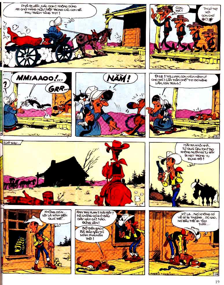 Lucky Luke tap 15 - ma dalton trang 20