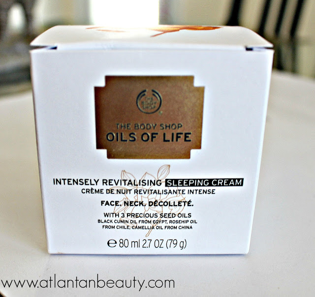 The Body Shop Oils of Life Intensely Revitalizing Sleeping Cream