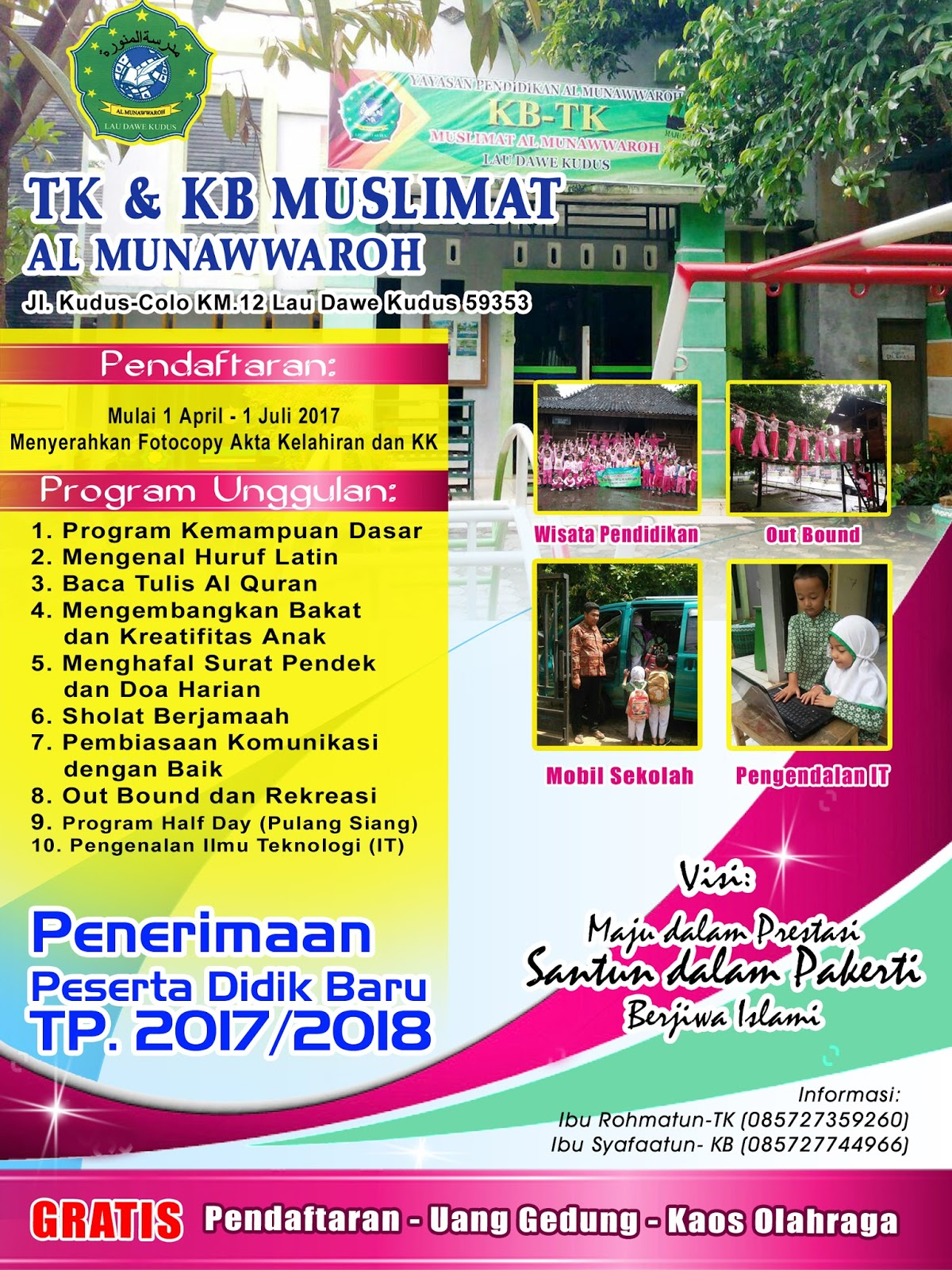 Desain Pataka Spanduk Banner Brosur Ppdb