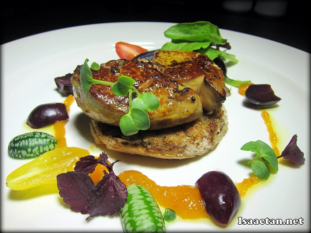 #2 Pan-seared Foie Gras - RM78