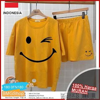 0FN180 Setelan Baju Tidur Set Wink BMGShop