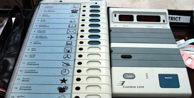 EVMs hack india