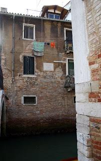 The house in Venice's Calle della Pietà, where Pietro Barbo was born.