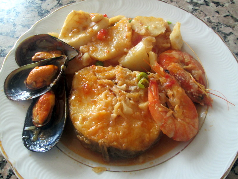 Cocinar no es dif cil pru balo zarzuela de pescado for Cocinar zarzuela