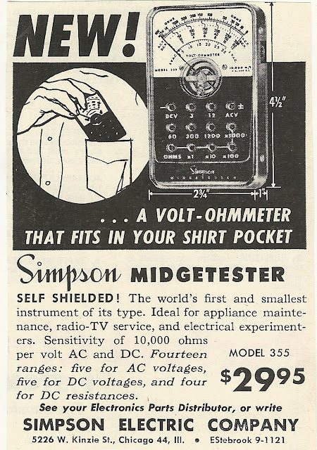 Old Ads Are Funny 1950s Ad Simpson Midgetester