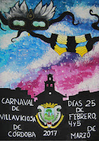 Carnaval de Villaviciosa de Córdoba 2017 - Angela Torronteras Rojo