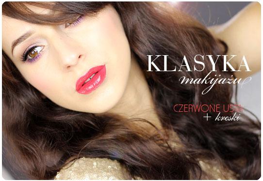 Alina Rose Blog Kosmetyczny Makijaż Sylwestrowy Klasyka Czyli