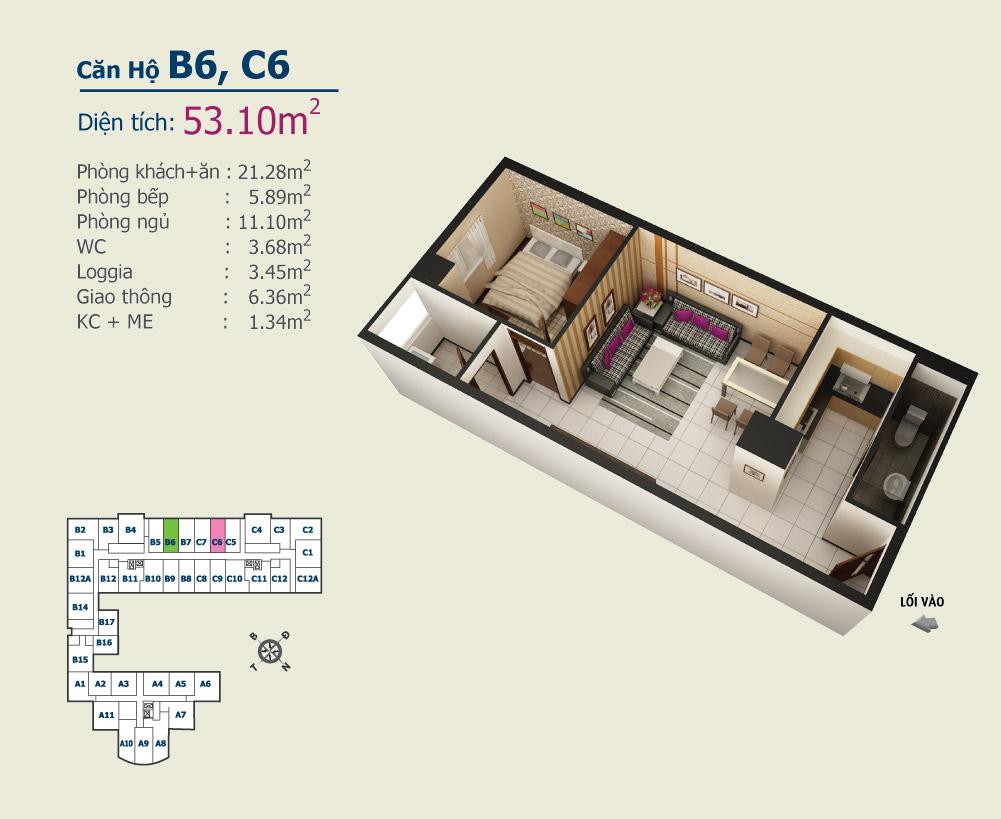 B6 C6