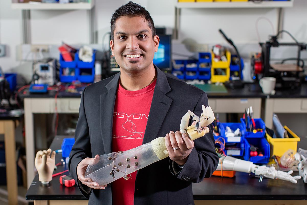 New Prosthetic Arm Can Provide Sensory Feedback