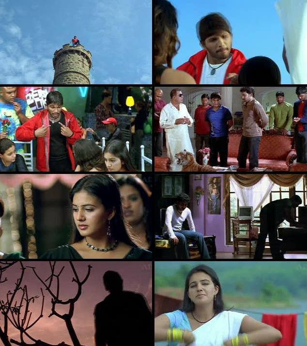Arya 2004 UNCUT Dual Audio Hindi 480p HDRip
