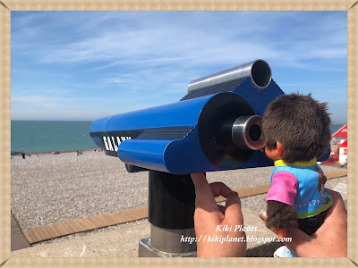kiki monchhichi dieppe normandie plage vintage toys life