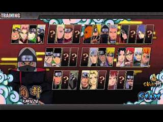 Game Naruto Senki Final mod Released v1.19 Apk (Carnival Mode)
