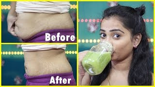 Loose Belly Fat in one Week / Bedtime drink to GET FLAT STOMACH / 100% Effective Miracle Drink