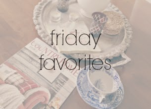 Friday Favorites @ www.natashainoz.com