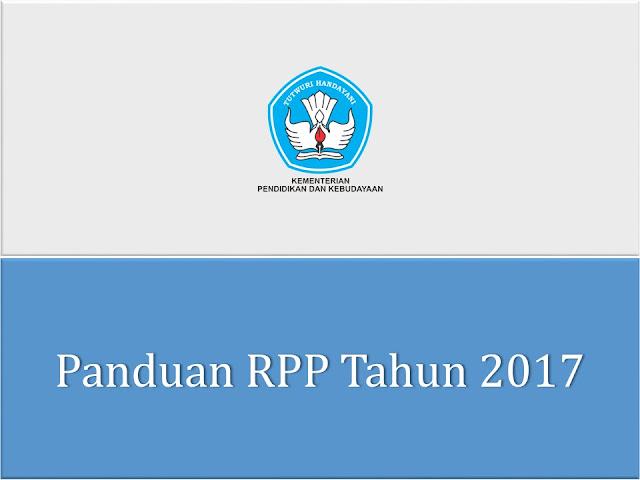 Panduan Menyusun RPP Tahun 2017