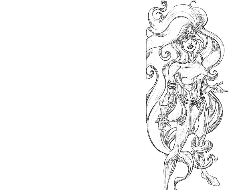 Medusa look lowland seed for Medusa coloring pages