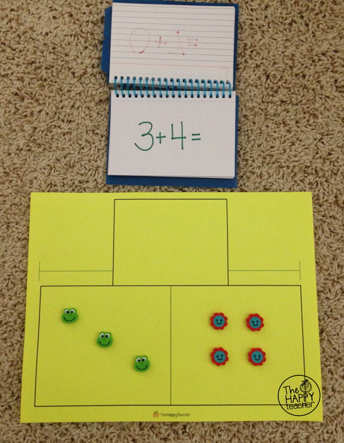 Math Facts Flip Book | TheHappyTeacher