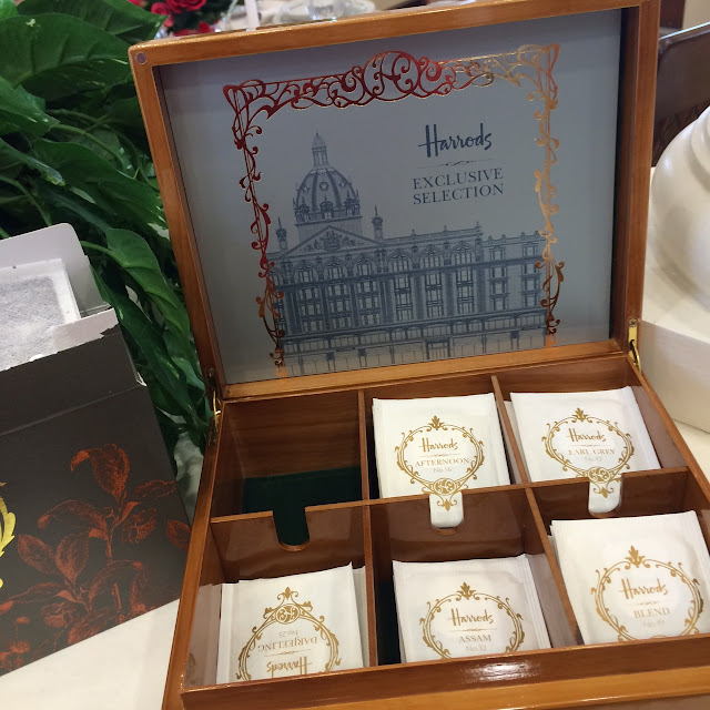 harrods tea box dar meeting maryland blogger