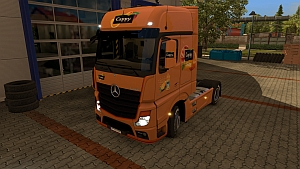 Cappy Pulpy skin for Mercedes MP4