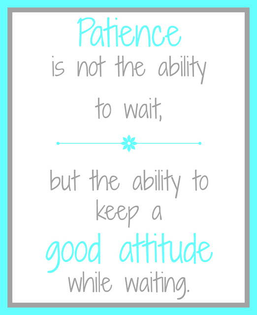 practice patience with these simple ideas