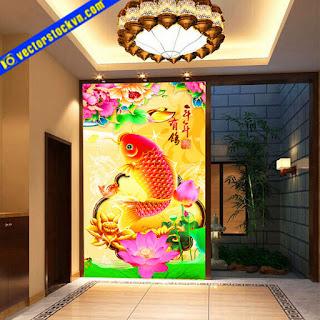 Tranh Cá Vàng. Tranh Phong Thủy