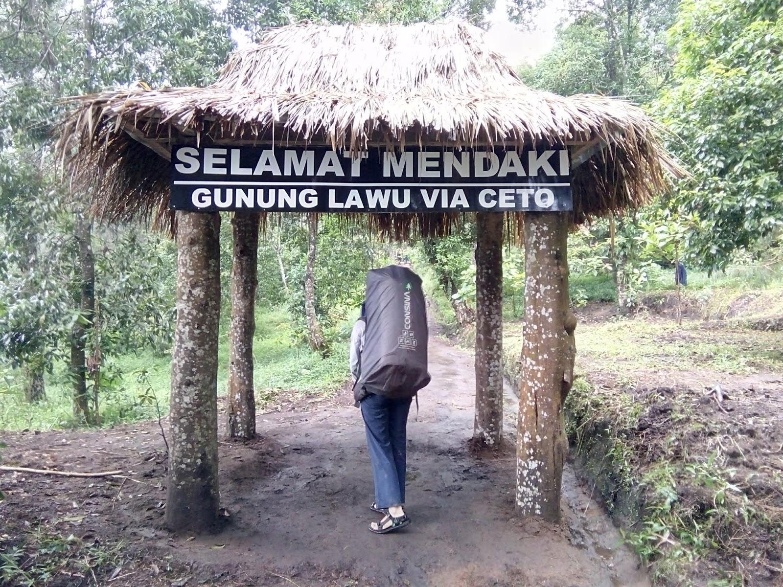 Pendakian Gunung Lawu Via Candi Ceto Volcanote Indonesia