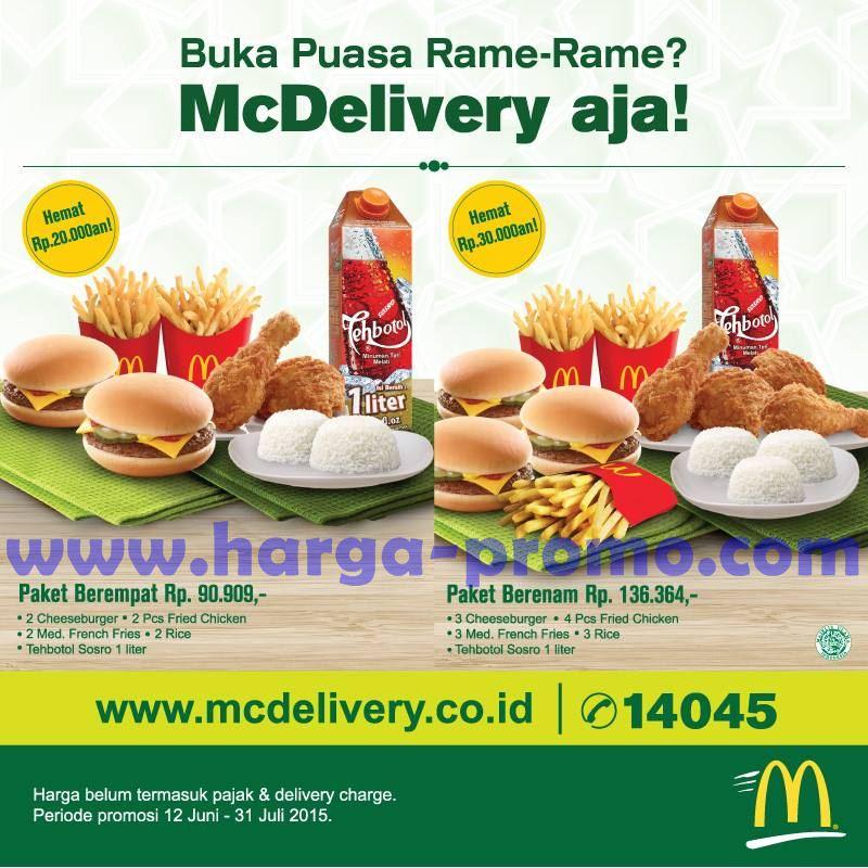 2 Hari Lagi, Ada Promo GO-PAY PAYDAY Makan di McDonalds dapat Cahsback 50 Persen