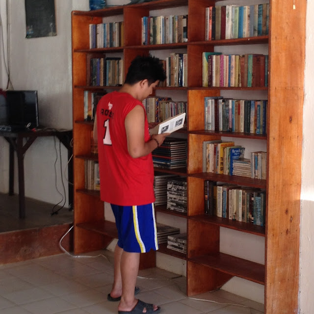 Book collection at Virgin Beach Resort
