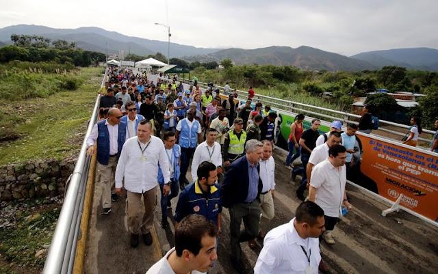Jefe de ACNUR constata la complejidad de la crisis migratoria venezolana