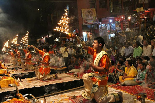 The Devoted Vibe of Dashashwamedh Ghat in Varanasi, Uttar Pradesh