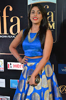 Madhu Shalini Looks Super Cute Slim trim Blue Choli Ghagra IIFA Utsavam Awards 019.JPG