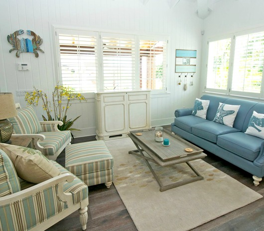 Beach Style With Muted Blue Sea Green Amp Sandy Beige