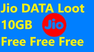 jio free 10GB Data