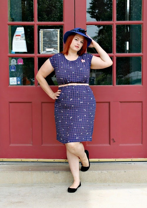 1960s shift dress via Va-Voom Vintage